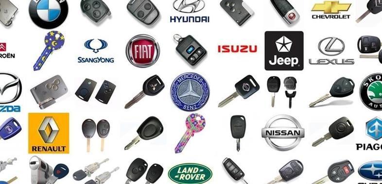 Изработка на автомобилни ключове